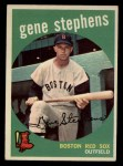 1959 Topps #261  Gene Stephens  Front Thumbnail