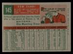 1959 Topps #145  Rookies  -  Dom Zanni Back Thumbnail