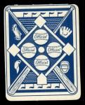1951 Topps Blue Back #21  Billy Johnson      Back Thumbnail