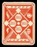 1951 Topps Red Back #49  Al Zarilla  Back Thumbnail