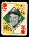 1951 Topps Red Back #4   Vern Stephens Front Thumbnail