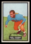 1951 Topps #48   George Young Front Thumbnail