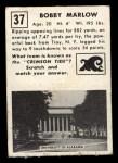 1951 Topps #37  Bobby Marlow  Back Thumbnail