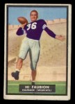 1951 Topps #63   Hi Faubion Front Thumbnail