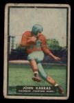 1951 Topps #9  John Karras  Front Thumbnail