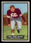 1951 Topps #49  Don McRae  Front Thumbnail