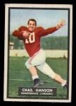1951 Topps #43   Charles Hanson Front Thumbnail