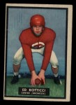 1951 Topps #35   Ed Rotticci Front Thumbnail