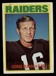 1972 Topps #235  George Blanda  Front Thumbnail