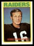 1972 Topps #235   George Blanda Front Thumbnail