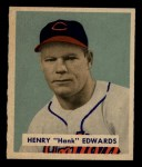 1949 Bowman #136  Hank Edwards  Front Thumbnail