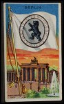 1911 Flags of All Nations T59 #13 REC  Berlin Front Thumbnail