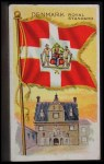 1911 Flags of All Nations T59 #35  Denmark Royal Standard  Front Thumbnail