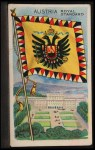 1911 Flags of All Nations T59 #7 REC  Austria Royal Standard Front Thumbnail