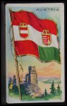 1911 Flags of All Nations T59 #6 REC Austria  Front Thumbnail