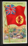 1911 Flags of All Nations T59 #18  British North Borneo  Front Thumbnail