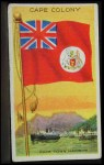 1911 Flags of All Nations T59 #24 REC  Cape Colony Front Thumbnail