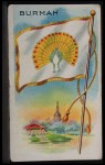 1911 Flags of All Nations T59 #22  Burmah  Front Thumbnail