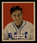 1949 Bowman #148  Bob Swift  Front Thumbnail