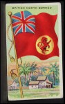 1911 Flags of All Nations T59 #18 REC  British North Borneo Front Thumbnail