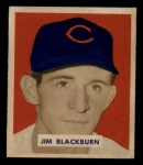 1949 Bowman #160   Jim Blackburn Front Thumbnail