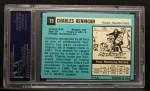 1964 Topps #75  Charlie Hennigan  Back Thumbnail