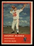 1963 Fleer #36   George Blanda Front Thumbnail