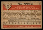 1953 Bowman #139   Pete Runnels Back Thumbnail