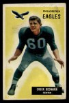 1955 Bowman #158   Chuck Bednarik Front Thumbnail