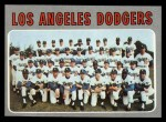 1970 Topps #411  Dodgers Team  Front Thumbnail