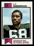 1973 Topps #165  L.C. Greenwood  Front Thumbnail