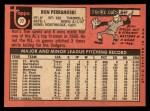 1969 Topps #77 ERR  Ron Perranoski  Back Thumbnail
