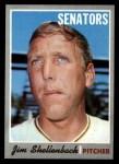 1970 Topps #389 COR Jim Shellenback  Front Thumbnail