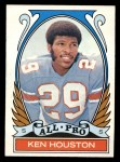 1972 Topps #287  All-Pro  -  Ken Houston Front Thumbnail