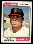 1974 Topps #405  Ellie Rodriguez  Front Thumbnail
