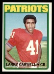 1972 Topps #299   Larry Carwell Front Thumbnail