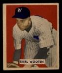 1949 Bowman #189   Earl Wooten Front Thumbnail