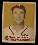 1949 Bowman #239  Frank McCormick  Front Thumbnail