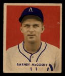 1949 Bowman #203  Barney McCoskey  Front Thumbnail