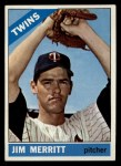 1966 Topps #97   Jim Merritt Front Thumbnail