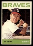 1964 Topps #171   Ty Cline Front Thumbnail
