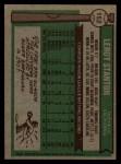 1976 Topps #152   Leroy Stanton Back Thumbnail