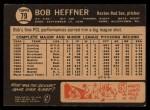 1964 Topps Venezuelan #79   Bob Heffner Back Thumbnail