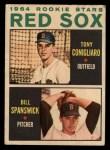1964 Topps Venezuelan #287   Red Sox Rookie Stars  -  Tony Conigliaro / Bill Spanswick Front Thumbnail