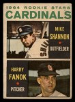 1964 Topps Venezuelan #262   -  Mike Shannon / Harry Fanok  Cardinals Rookies Front Thumbnail