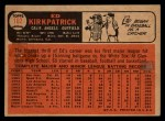 1966 Topps Venezuelan #102   Ed Kirkpatrick Back Thumbnail
