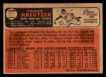 1966 Topps Venezuelan #211   Frank Kreutzer Back Thumbnail
