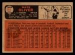 1966 Topps Venezuelan #364   Nate Oliver Back Thumbnail