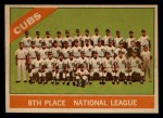 1966 Topps Venezuelan #204  Cubs Team  Front Thumbnail