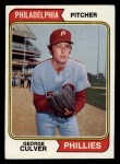1974 Topps #632   George Culver Front Thumbnail